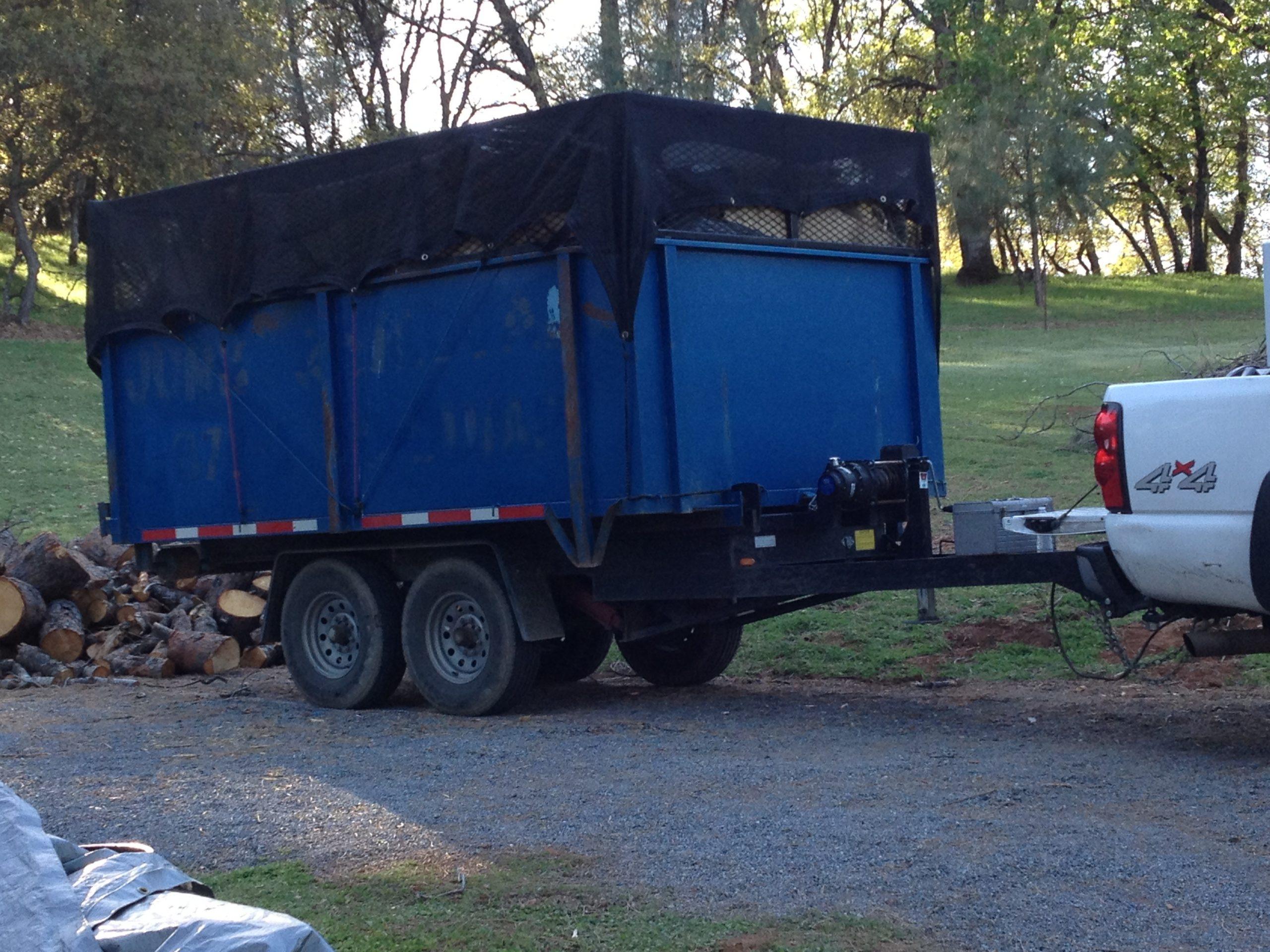 roll off trailer